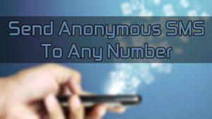 SMS anonimi
