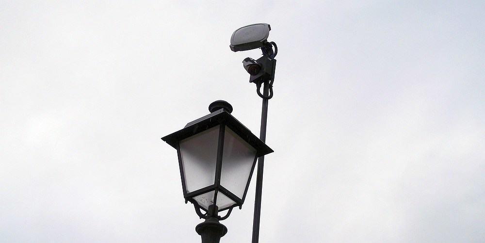 telecamera su lampione