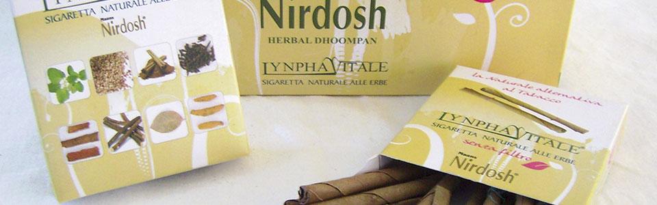 Nirdosh, la sigaretta Ayurvedica