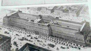 palazzo delle finanze di Roma