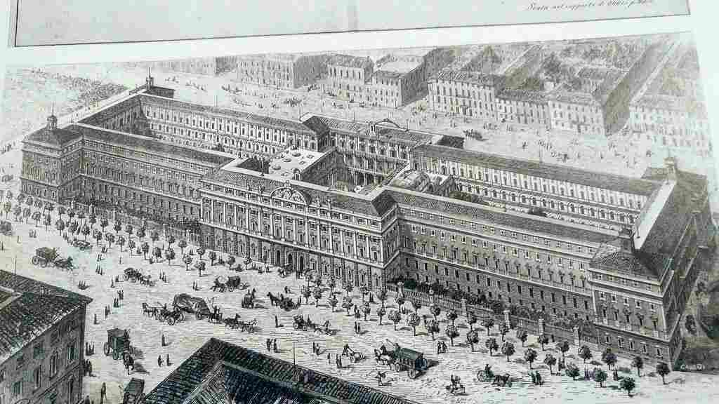 Il più grande palazzo di Roma