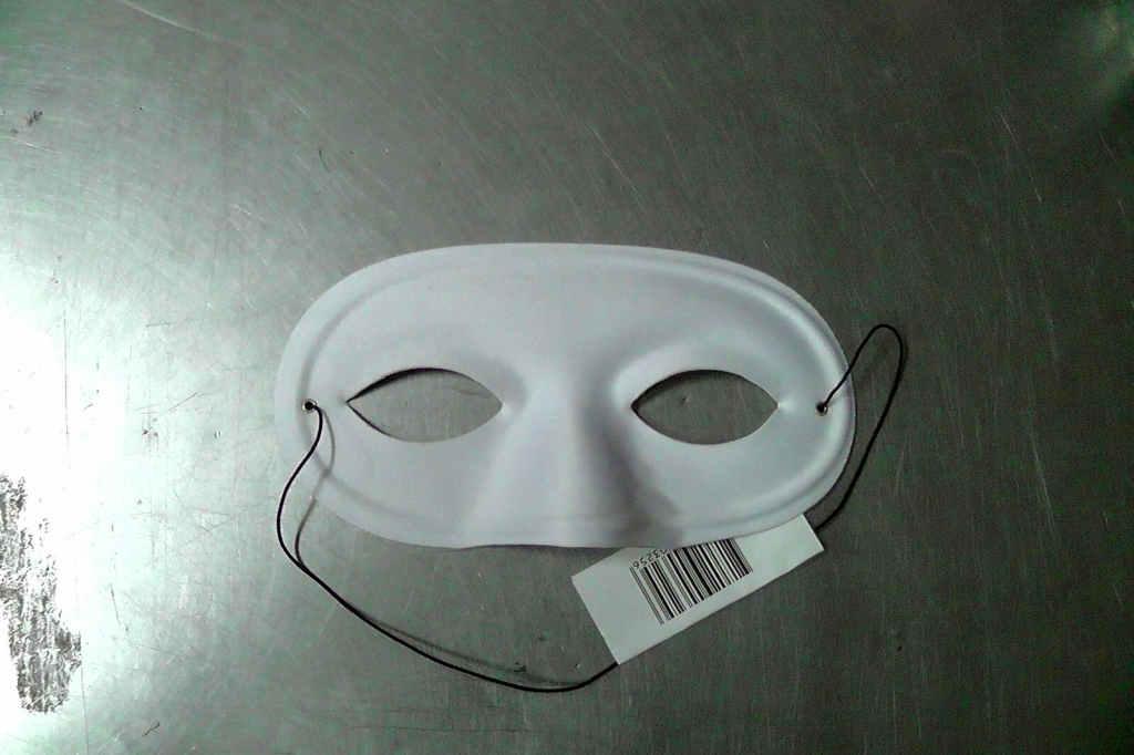 mascherina bianca